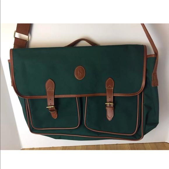 Polo Ralph Lauren Vintage Carry Bag Travel A4. M 5a70d81e2ab8c5bd5f7d6889 50d01af31da7d